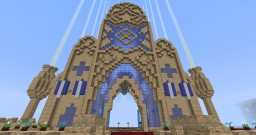 The Silencian capital: Khabûl Minecraft