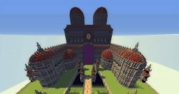 Germango Medieval Style - Large Server Hub [565x565] Minecraft Map & Project