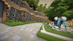 Minecraft: Hub/Lobby Spawn 100x100 [Download] Minecraft