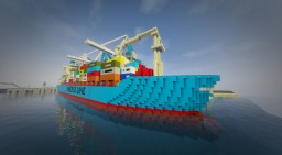 W.I.P. MV Maersk Alabama - Container ship Minecraft Project