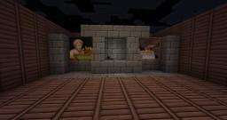 Hidden Stair Fireplace Minecraft Project
