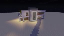 ModernHouse - modernes Haus mit geheimen Schutzraum Minecraft Map & Project