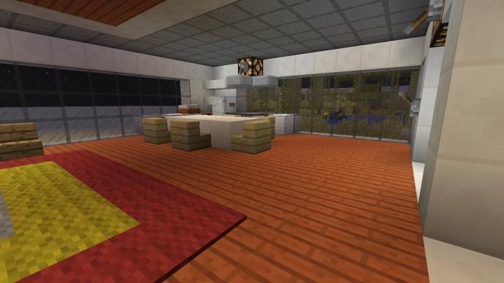 Modernhouse modernes haus mit geheimen schutzraum for Minecraft modernes haus