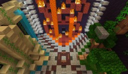 The Three Titans Minecraft Map & Project