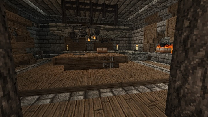 Medieval Interior Ideas Minecraft Project