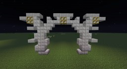 Lamp posts 1 Minecraft Map & Project