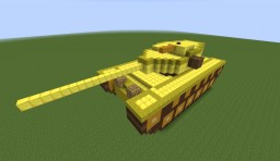 T110E5 in Мinecraft from World of Tanks Minecraft Map & Project
