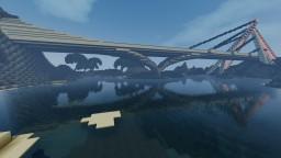modern bridge and tunnel Minecraft