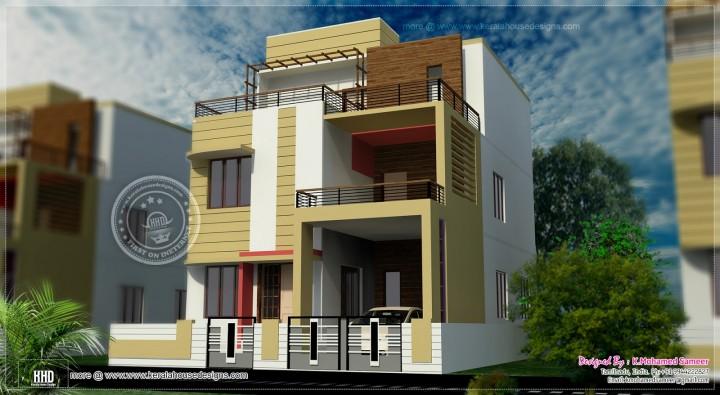 Modern Townhouse Duplex Minecraft Project