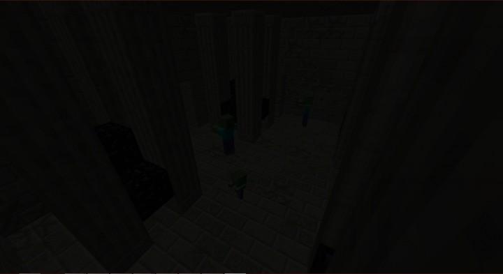 Pillars w Obsidian Room