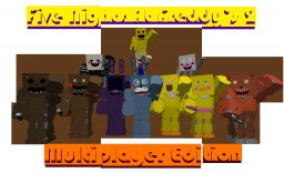 Five Night's At Freddy's 2 Multiplayer | SPOOKYIEST THING ON MINECRAFT!! (READ DESC!) Minecraft Server