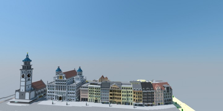 Augsburg - German City Minecraft Project