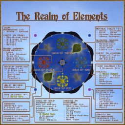 Clash of Elements - A Creativity-Focused PvP Map for Two or Four Teams (WIP) Minecraft Map & Project