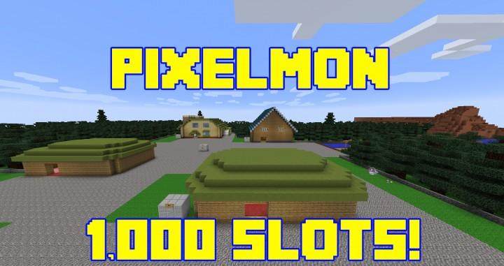 minecraft server mit 1000 slots