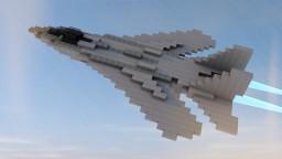 F-14 Tomcat Minecraft Map & Project