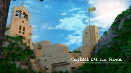 Castell De La Roca - Westpoint City | CC Minecraft Map & Project
