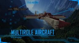 "F/A-6 ""Meteor"" Multirole Aircraft Minecraft"