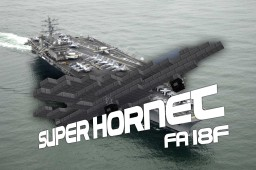 F/A-18F Super Hornet Minecraft Map & Project