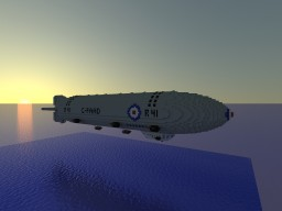 R41 (custom passenger zeppelin) Minecraft Map & Project