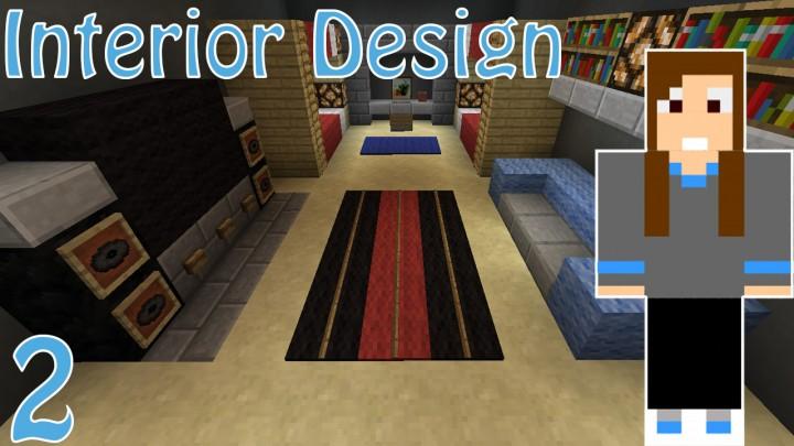 Bedroom Interior Designs Minecraft Map