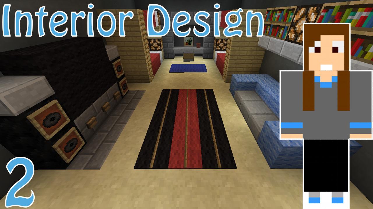 Bedroom Interior Designs!! Minecraft Project