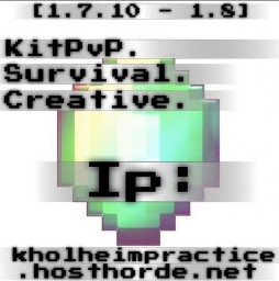 NEED STAFF!! [1.7.10-1.8] KHOLHEIM - NETWORK [PvP] [Survival] [Creative] [LOOKING FOR STAFF] Minecraft Server