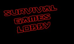 Survival Games Hub Minecraft Map & Project