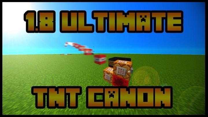 1 8 ultimate tnt canon minecraft project. Black Bedroom Furniture Sets. Home Design Ideas