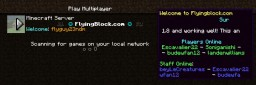 Player Count Message [Bukkit] Minecraft Mod
