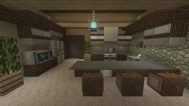 Kitchen Designs Inspiration Minecraft Project