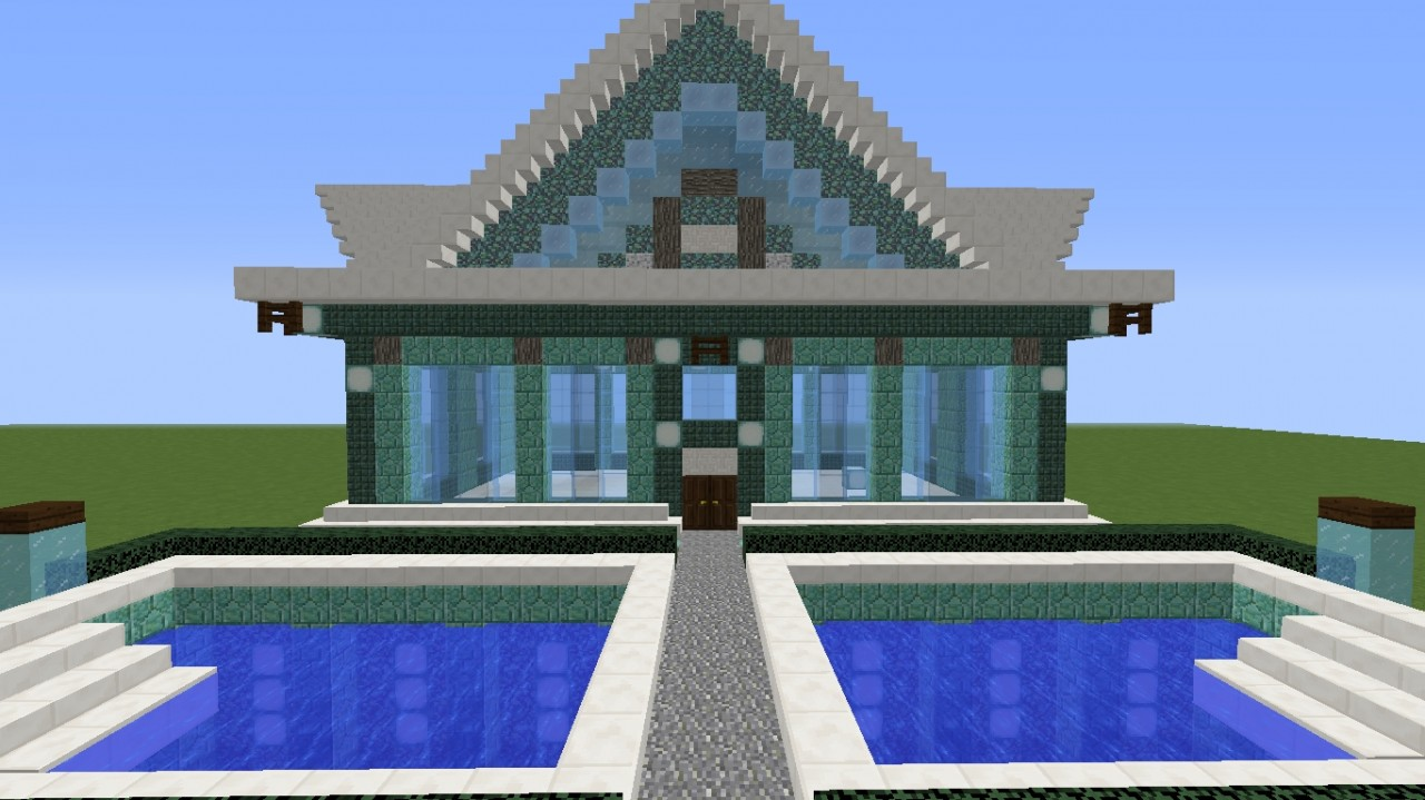 Building tutorial ainzo minecraft blog for Building a house blog