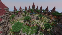[Comission] Medieval Factions Spawn Minecraft Map & Project
