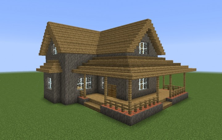 Old House Minecraft Map