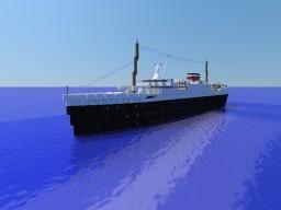 The R.M.S AURORA (A minecraft ocean liner) Minecraft Map & Project