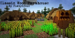 Classic Wooden Farmhouse + Interior (10 month absence comeback project) Minecraft Map & Project