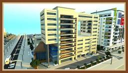 Modern Apartment Building Minecraft