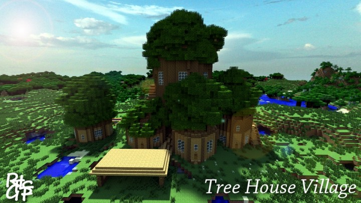 Minecraft Treehouse Map Adventure Time Tree House Minecraft - Minecraft maps spielen