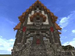 Middle Class Tudor House 1 Minecraft Project