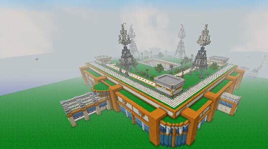 Mauville City In Pokemon Oras Minecraft Project