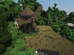 Windmill - Molino de viento Minecraft Map & Project