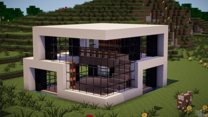 Updated modern house minecraft project for Modern house tumblr