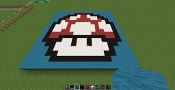 Mario Bros. Toad schematic mushroom