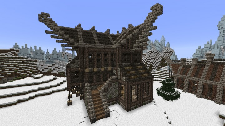 minecraft castle schematics html with Large Vikingnordic House on Evil Tower Of Ominousness besides Tardis World Save Schematic in addition Sandstone Masion together with Asgard 2046024 furthermore Little Medieval Ideas.