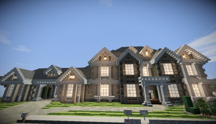 Image Result For How To Build A French House In Minecraft