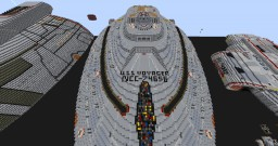 USS Voyager NCC 74656 Minecraft Map & Project