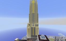 Baiyoke Sky Hotel Bangkok Minecraft Map & Project