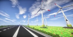 Wind power plant Minecraft Map & Project
