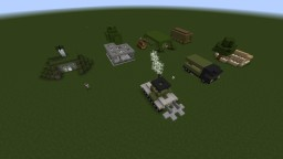 Random Military Hideouts Minecraft Map & Project