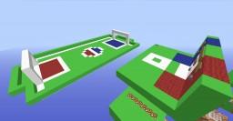 "Footchicken minigame! - minecraft simple ""football(soccer)"" in minecraft! Minecraft Map & Project"