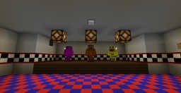 FNAF Map Minecraft Project